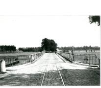 Tram van de lijn Gent-Geraardsbergen, Zwijnaarde, 1940.