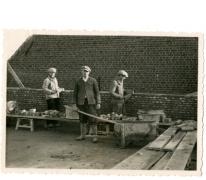 Bouwvakker, Oosterzele, 1930-1960