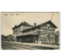 MELLE Statie. Station