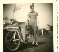 Bij de scooter, Letterhoutem, 1970-1980
