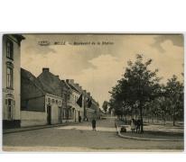MELLE. - Boulevard de la Station