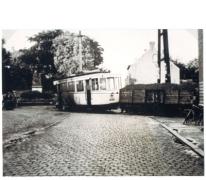 Ongeluk met de tram op de lijn Gent-Geraardsbergen, Bottelare, 20/08/1950.