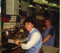 Aan het werk, Mere, 1980-1990