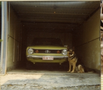 Waken bij de auto, Letterhoutem, 1980-1990