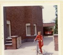 Fietsen op de oprit, Sint-Lievens-Houtem, 1980-1990