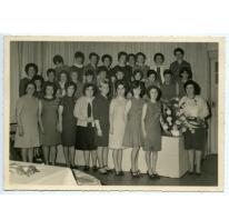 De collega's op de foto, Sint-Lievens-Houtem, 1960-1970