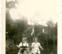 Leerling wielrijders, Balegem, 1951