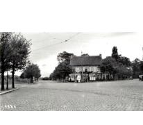 """Tram van de lijn Gent-Geraardsbergen, Gent """"De Sterre"""", 1936."""