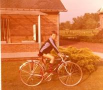 Nieuwe fiets, Balegem, 1970-1980
