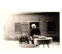 Verwerking van vlees, Oosterzele, begin jaren 1960