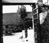 Hof te Letterhoutem, Toegangspoort, Sint-Lievens-Houtem