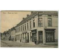 Melle - Route vers Gand