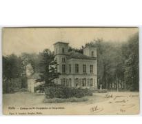 Kasteel van Verplancke de Diepenhède te Melle in 1904
