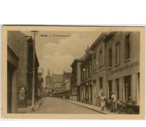 Kloosterstraat te Melle in de vijftiger jaren.