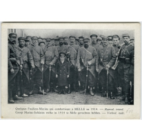Franse vlootfuseliers te Melle in 1914