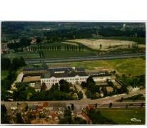 Luchtfoto van het College te Melle