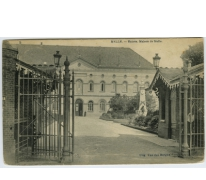 Ingang tot het Jezuietencollege te Melle in 1922