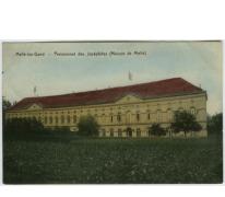 Hoofdgebouw van het College te Melle in 1910