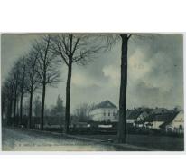 Zicht op het College te Melle in 1911