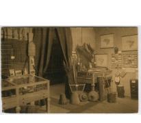 Hoekje van het etnografisch museum in 1931 College Melle