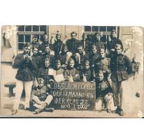 Vlaamse soldaten bezettingsleger, Duitsland, 1922