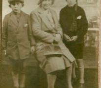 Plechtige Communie broers De Landsheer, Sint-Lievens-Houtem, 1930
