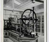 Museum voor industrie in het College van Melle in 1910