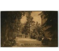 Weg naar het zwembad in het college van Melle in 1926