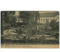 Botanische tuin van het college te Melle in 1906
