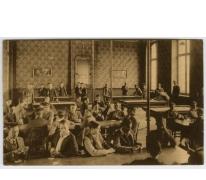 Speelzaal van de hogere afdeling in het college van Melle in 1936
