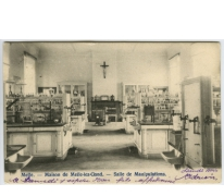 Scheikundelokaal, college Melle,1903