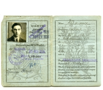 Franse identiteitskaart, Fins, 1937-1938