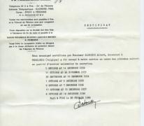 Certificaat van tewerkstelling, Fins, 1981