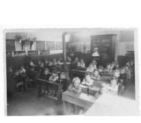 Derde kleuterklasje bij de nonnekes, Balegem, 1947