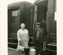 Klaar voor vertrek, Merelbeke, 1963