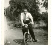 Op de fiets in het zonnetje, Munte, 1948-1949