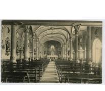 Interieur van de kapel van het college, Melle, 1922