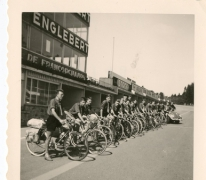 Chiro Melle, fietstocht Luxemburg, Franchorchamps, 1962