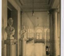 Gang van het administratief gebouw, Caritasinstituut, Melle