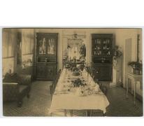 Eetzaal van Villa Placida, Caritasinstituut, Melle