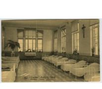 "Slaapzaal, paviljoen ""Dennenboom"", Caritasinstituut, Melle"