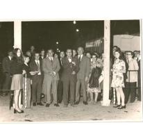 Opening Handelsbeurs, Sint-Lievens-Houtem, eind jaren 1960