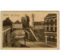 Boogbrug bij Merelbeke station