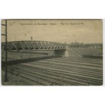 Brug over de spoorweg, Merelbeke, 1911
