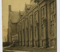 Voorgevel, Pensionaat, Sint Franciskus, Melle Vogelhoek, 1909