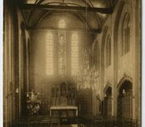 Koor van de kapel, Sint Franciskusinstituut, Melle Vogelhoek
