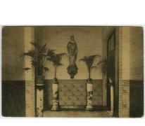 Inkomhal, Sint Franciscusinstituut, Melle Vogelhoek, 1909