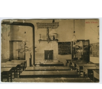Studiezaal, Sint Franciscusinstituut, Melle, 1912