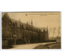Hoofdgevel, Sint Franciscusinstituut, Melle, 1930