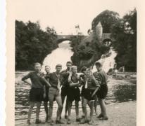 Chiro Melle, watervallen Coo, 1962